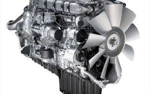 The Detroit Diesel DD15 Diesel Engine's 2.64 gear ratio promises better fuel economy for truckers.