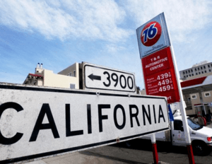 California received a mandate to use winter blends earlier than usual because of a spike in gasoline price.