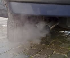 Particulate emissions are a result of an incomplete combustion process of the diesel used.