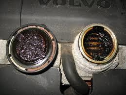 Sludge forms when petroleum diesel engine oils solidify in low temperatures.