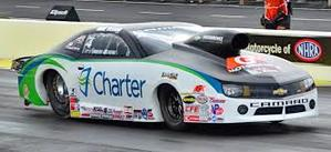 Looking for sponsors is one of the pressures of drag racing.