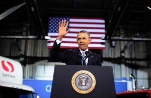 President Obama announced on February 18 his goal to improve fuel efficiency in heavy-duty and medium trucks by 2016.