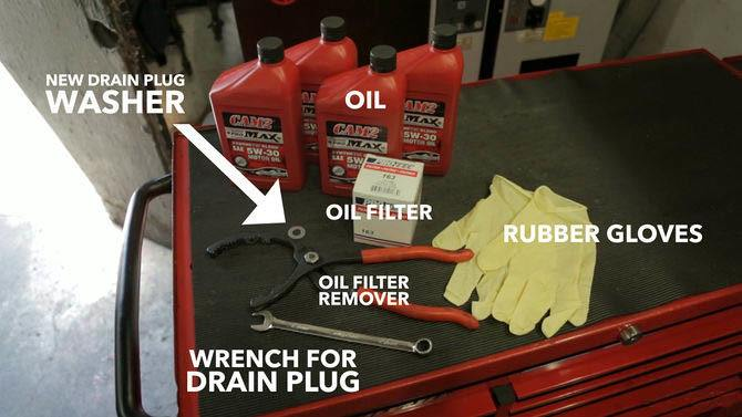 Oil Change Tools