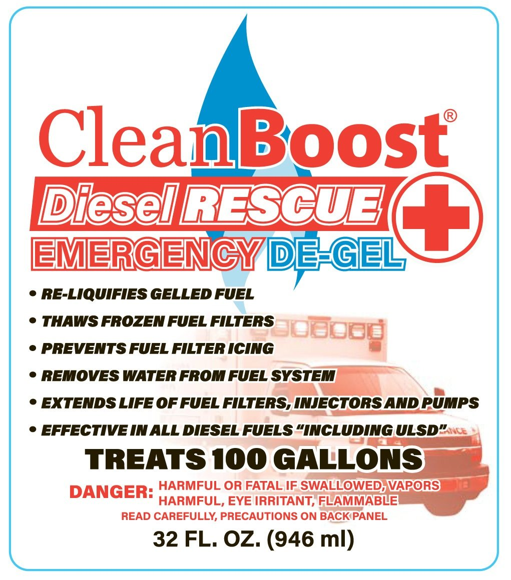 Thaw Gelled Diesel Fuel In An Emergency Semi Filter Cleanboost Rescue De Gel Is A Great Product That Looks After Your Truck System More Ways Than One