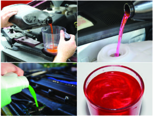 The Different Colors of Coolant