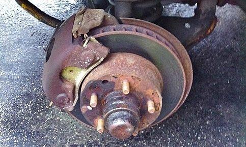 How to Fix a Seized Brake Caliper