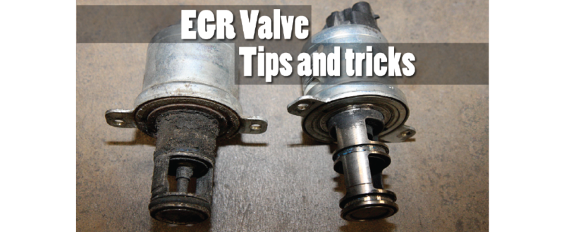 How to Fix a Dirty EGR Valve